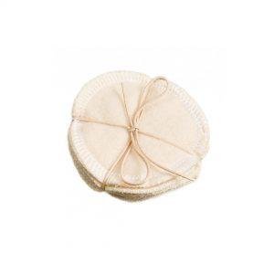 Многоразовые ватные диски из неотбеленного хлопка